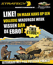 Like en Win op onze facebookpagina https://www.facebook.com/sierraebro/